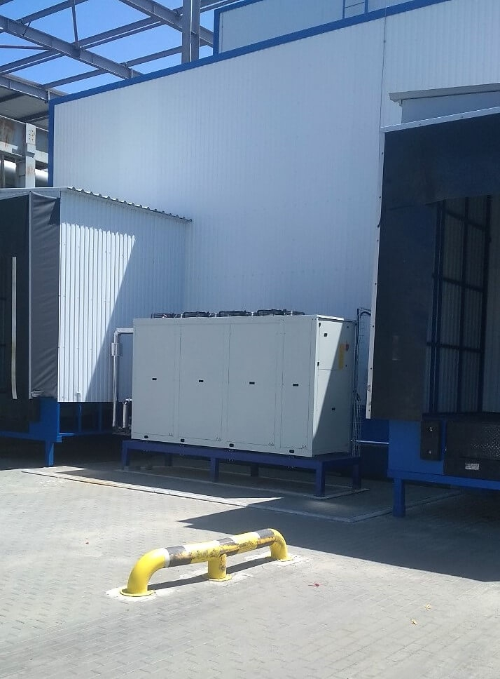 Cooling system for yogurt production at Danon Kremez-image-0