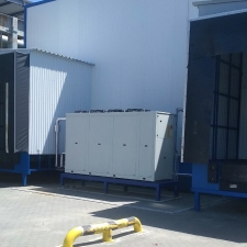 Cooling system for yogurt production at Danon Kremez